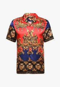 Jaded London - LEOPARD BAROQUE REVERE - Shirt - red/blue - 3