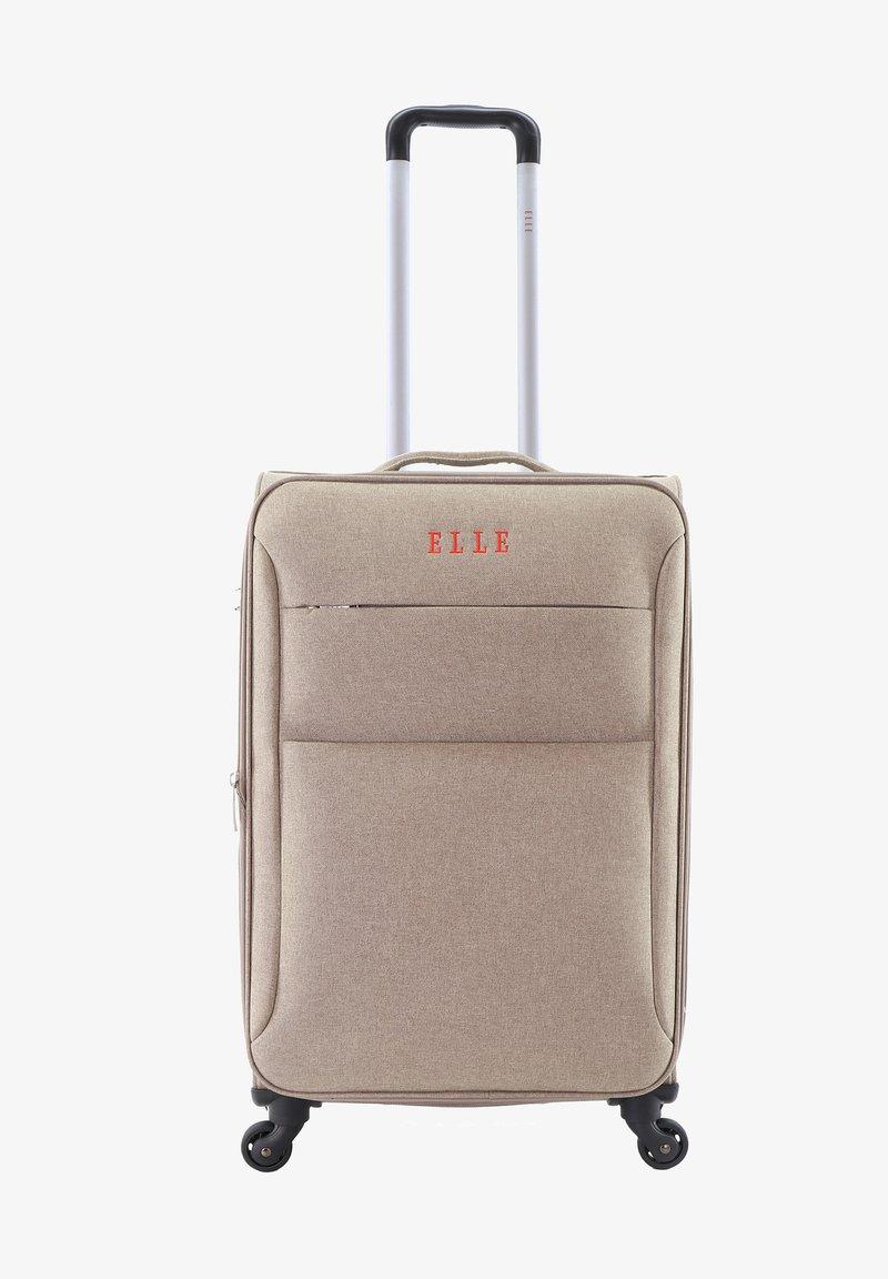 ELLE - Wheeled suitcase - beige