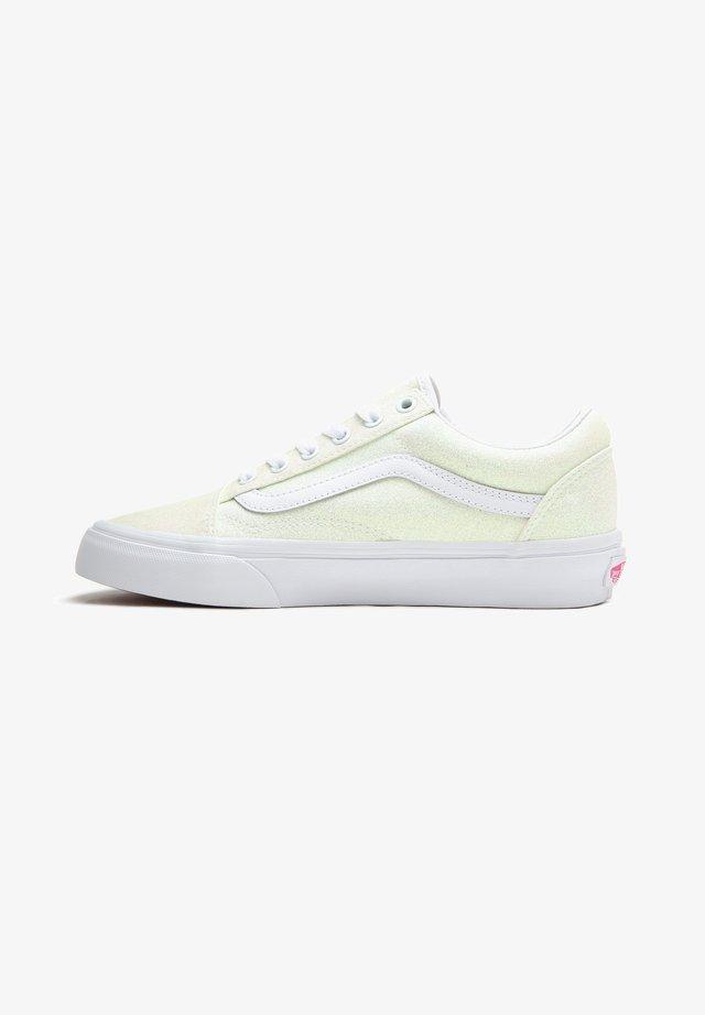 OLD SKOOL - Sneakers - (uv glitter) pink/true white