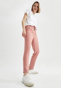 DeFacto - Trousers - light pink - 1