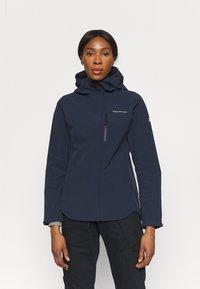 Peak Performance - XENON JACKET - Hardshell jacket - blue shadow - 0