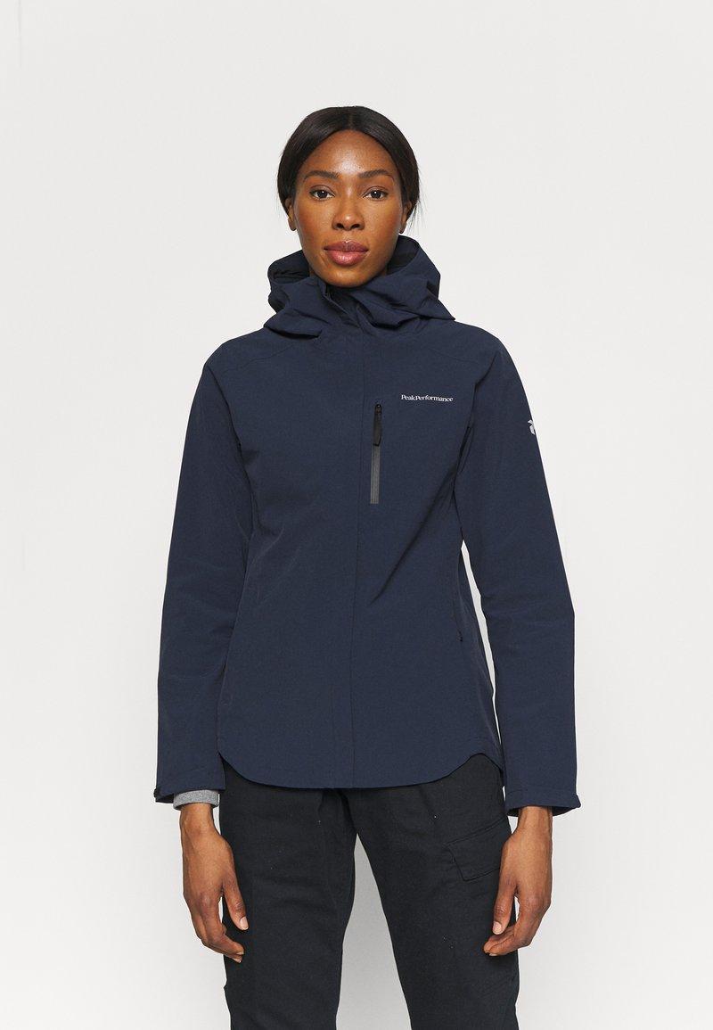 Peak Performance - XENON JACKET - Hardshell jacket - blue shadow