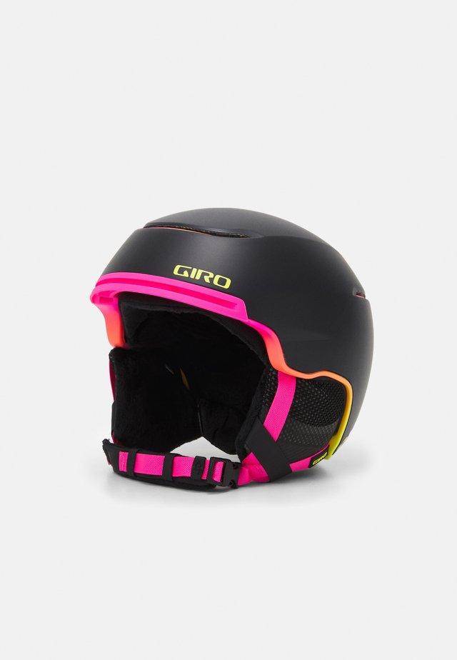 TERRA MIPS - Casco - matte black/neon lights