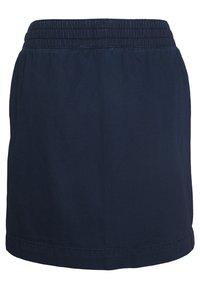 Q/S designed by - KURZ - A-line skirt - blue denim - 1