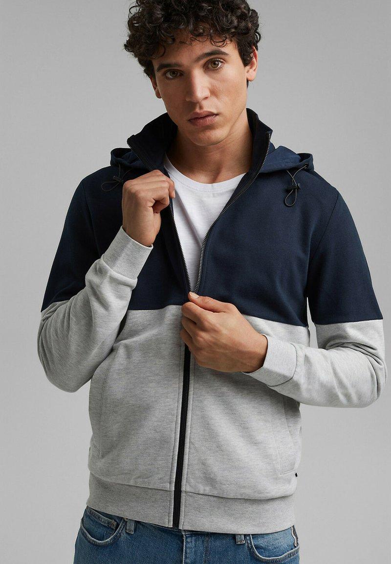 edc by Esprit - Zip-up sweatshirt - navy