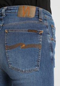 Nudie Jeans - HIGHTOP TILDE - Jeansy Skinny Fit - blue stellar - 5