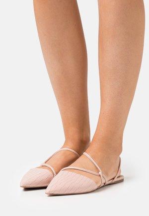 SELENA - Ankle strap ballet pumps - light pink