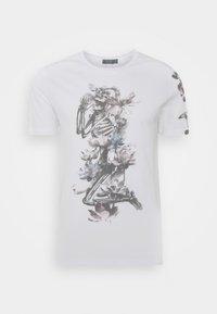 Religion - LOTUS SKELETON TEE - T-shirt print - white - 0