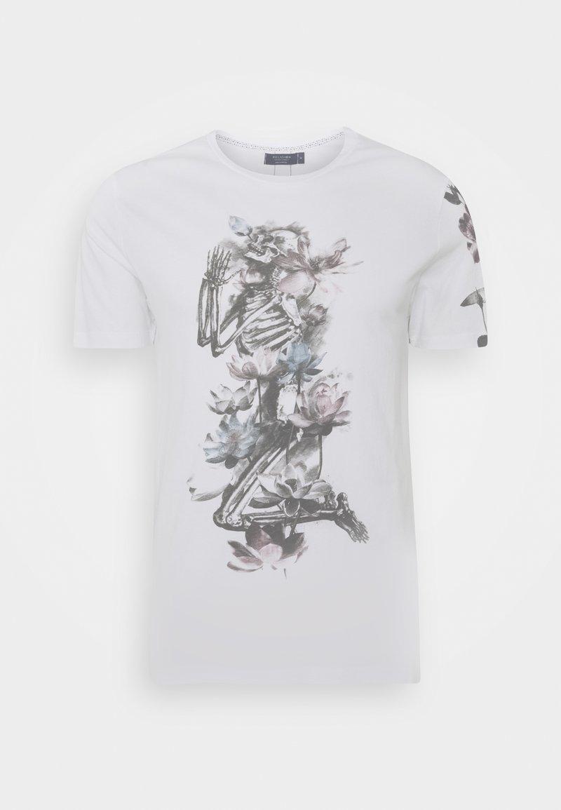 Religion - LOTUS SKELETON TEE - T-shirt print - white