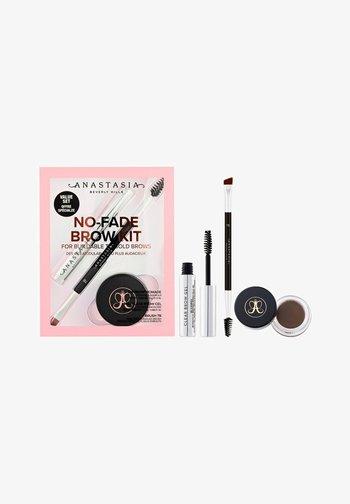 NO-FADE - AUGENBRAUEN-SCHMINKSET - Makeup set - 2-er Set: Ebony