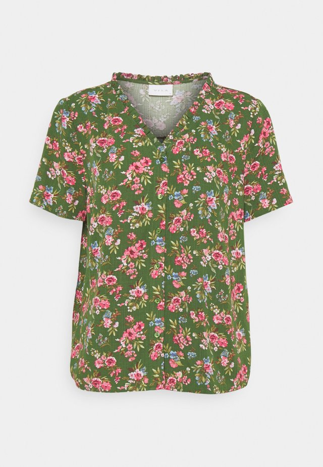 VICARE - Button-down blouse - eden