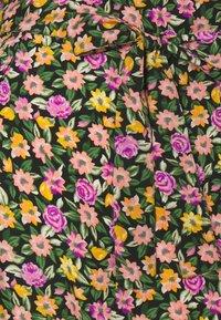 Pieces Maternity - PCMROSIA - Košilové šaty - black/dewberry - 5