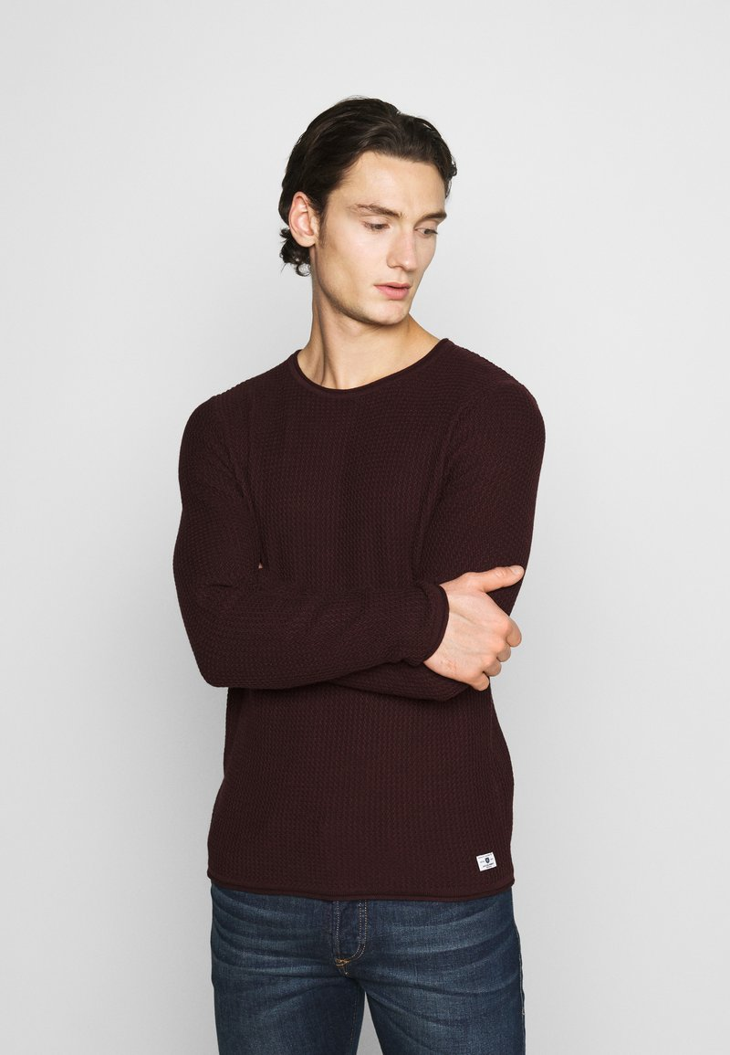 Jack & Jones PREMIUM - CARLOS NOOS - Jumper - port royale