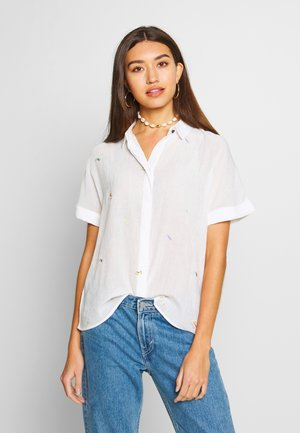 ALAYNA JOCELYNN - Button-down blouse - bright white