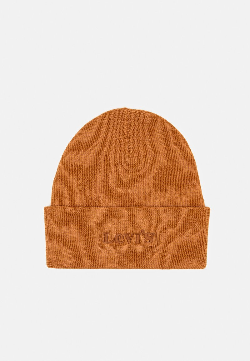 Levi's® - MODERN VINTAGE LOGO BEANIE UNISEX - Beanie - brown