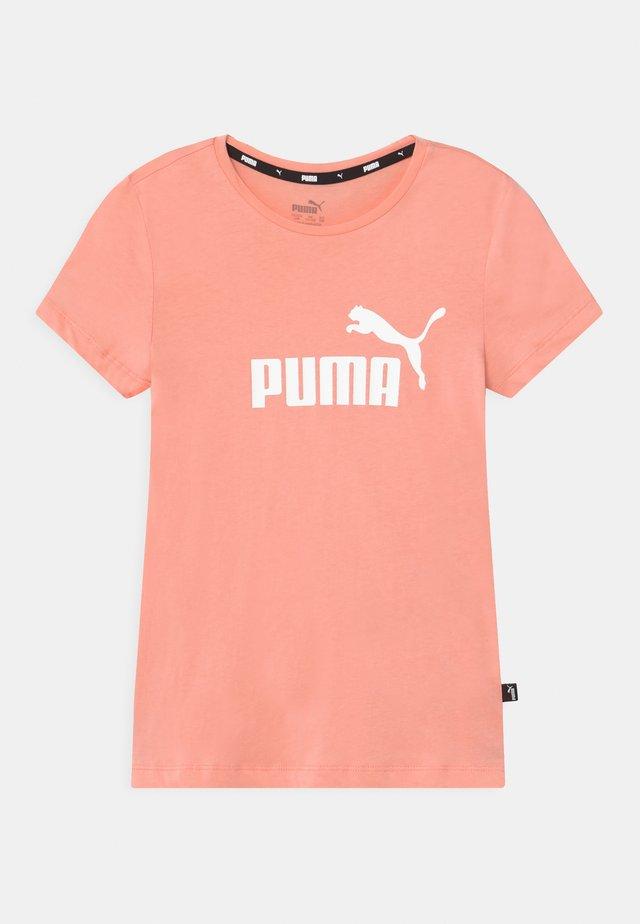 LOGO UNISEX - Printtipaita - apricot blush