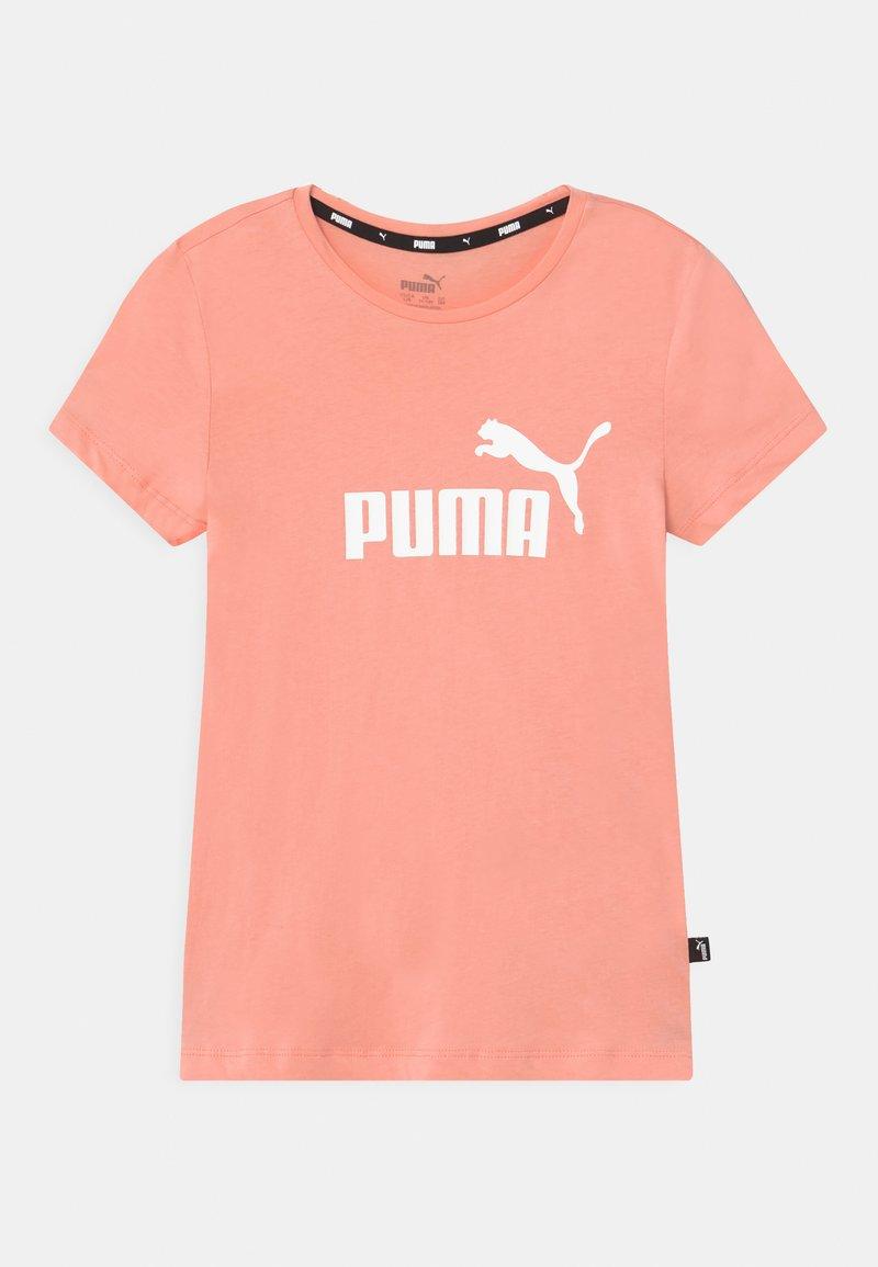 Puma - LOGO TEE UNISEX - Triko spotiskem - apricot blush