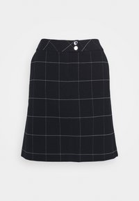 comma casual identity - Mini skirt - dark blue - 0
