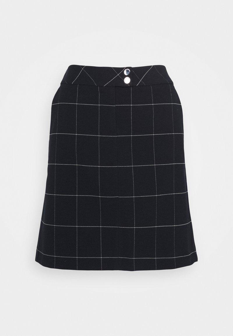 comma casual identity - Mini skirt - dark blue