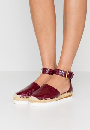 Espadrillas - bordeaux