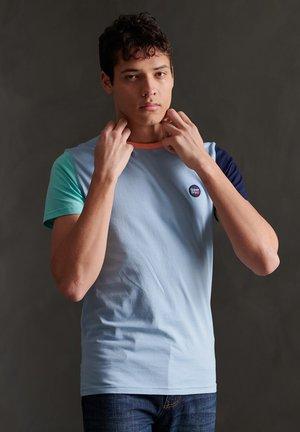 Print T-shirt - brea blue