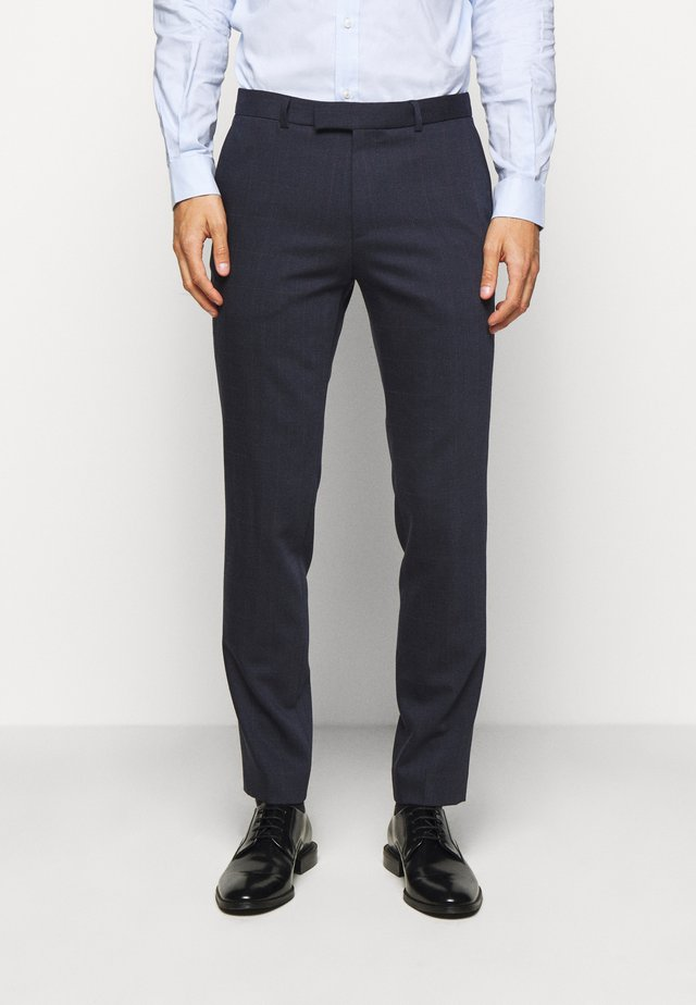 HEIRO - Suit trousers - dark blue