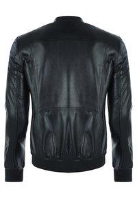 Giorgio Di Mare - Leather jacket - black - 1