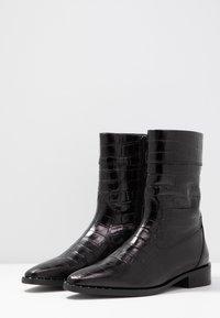 Scotch & Soda - OPAL MID BOOT - Vysoká obuv - black - 4