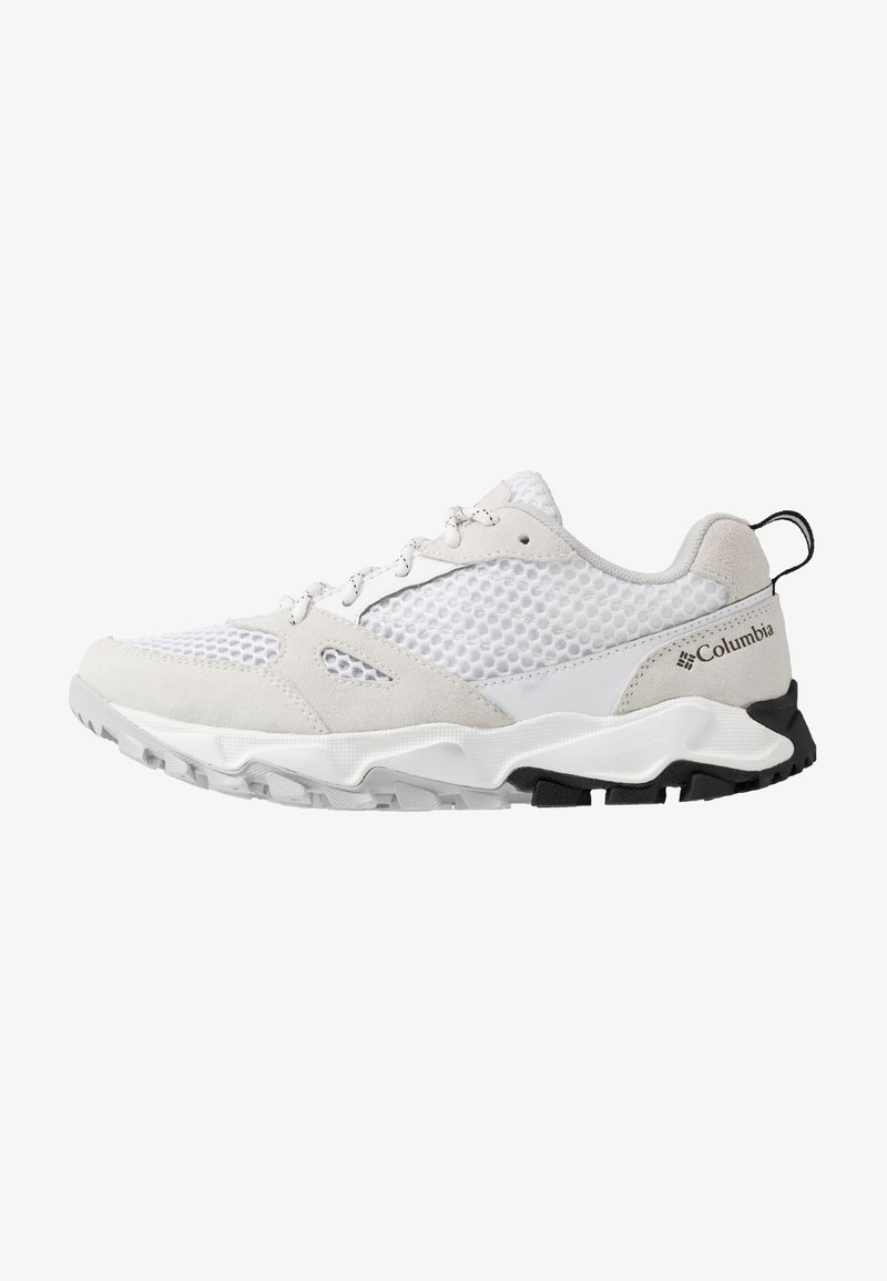 Columbia - IVO TRAIL BREEZE - Hiking shoes - white/ice grey