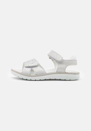 Sandals - argento/bianco