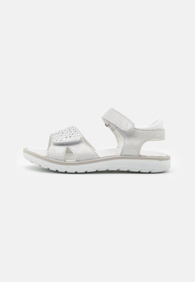 Sandali - argento/bianco