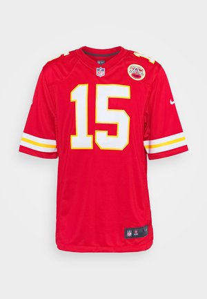 NFL KANSAS CITY CHIEFS PATRICK MAHOMES NIKE GAME TEAM COLOUR  - Klubové oblečení - university red