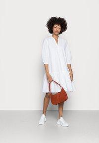Esprit - DRESS - Shirt dress - white - 1