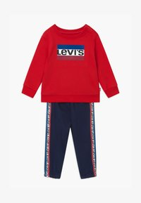 Levi's® - CREW SET - Tracksuit - red/dark blue - 0