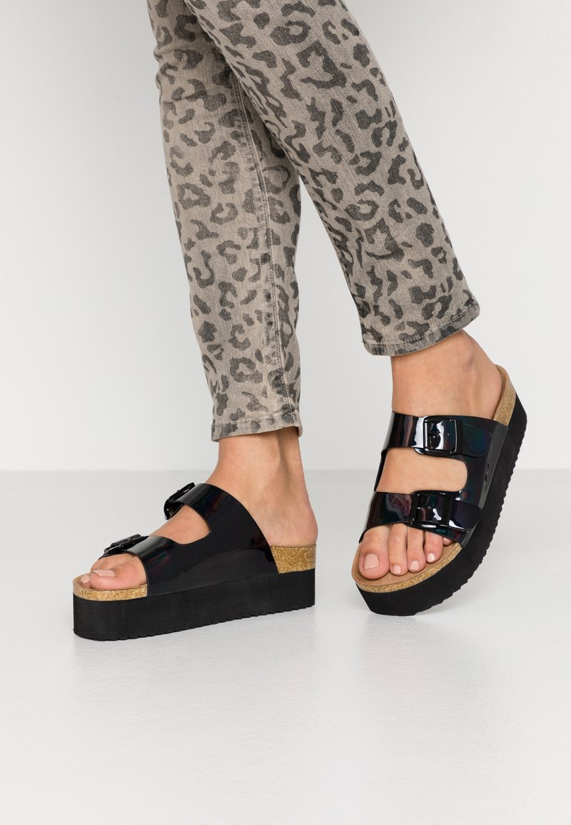 Even&Odd - Slippers - black