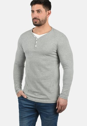 DORIANO - Maglietta a manica lunga - light grey