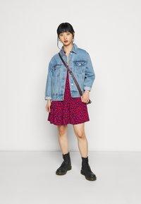 GAP Petite - TIERED MINI - Day dress - pink - 1