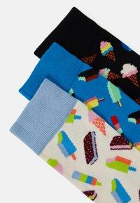 Happy Socks - ICE CREAM SOCKS GIFT SET 3 PACK UNISEX - Socks - multi - 1