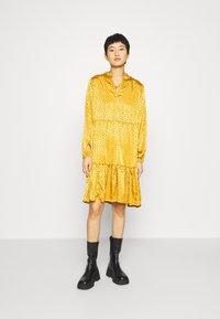 Saint Tropez - DENORA EDA DRESS - Day dress - bronze brown - 1