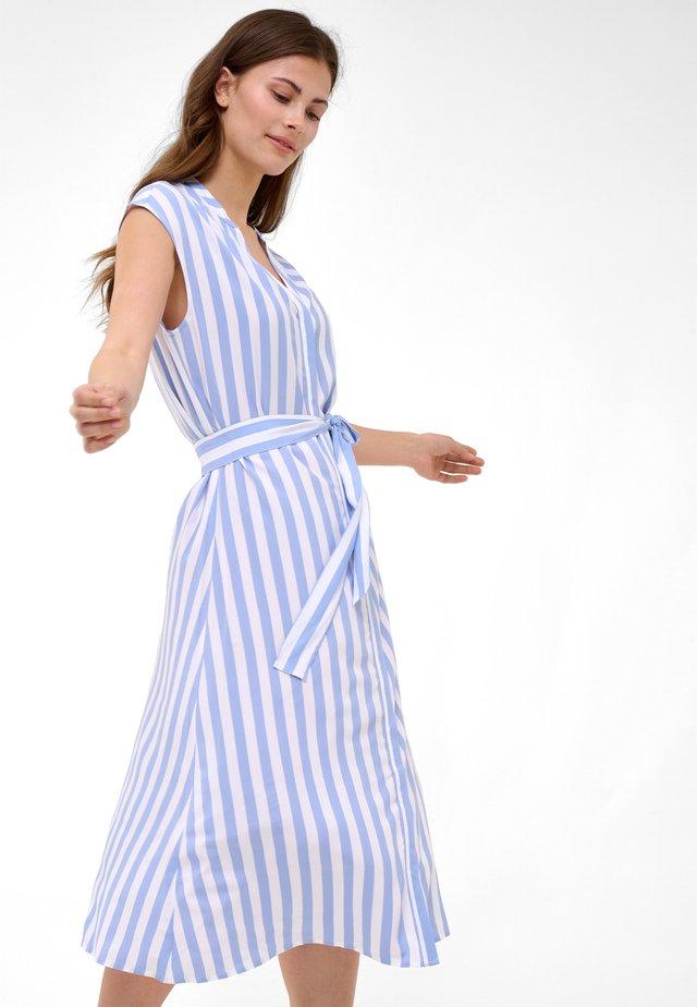Shirt dress - sky blue