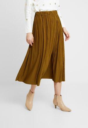 UMA SKIRT - Pleated skirt - green khaki