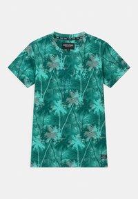 Cars Jeans - SOREN - Print T-shirt - aqua - 0