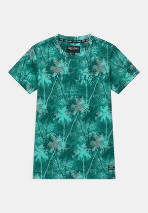 SOREN - T-shirt imprimé - aqua