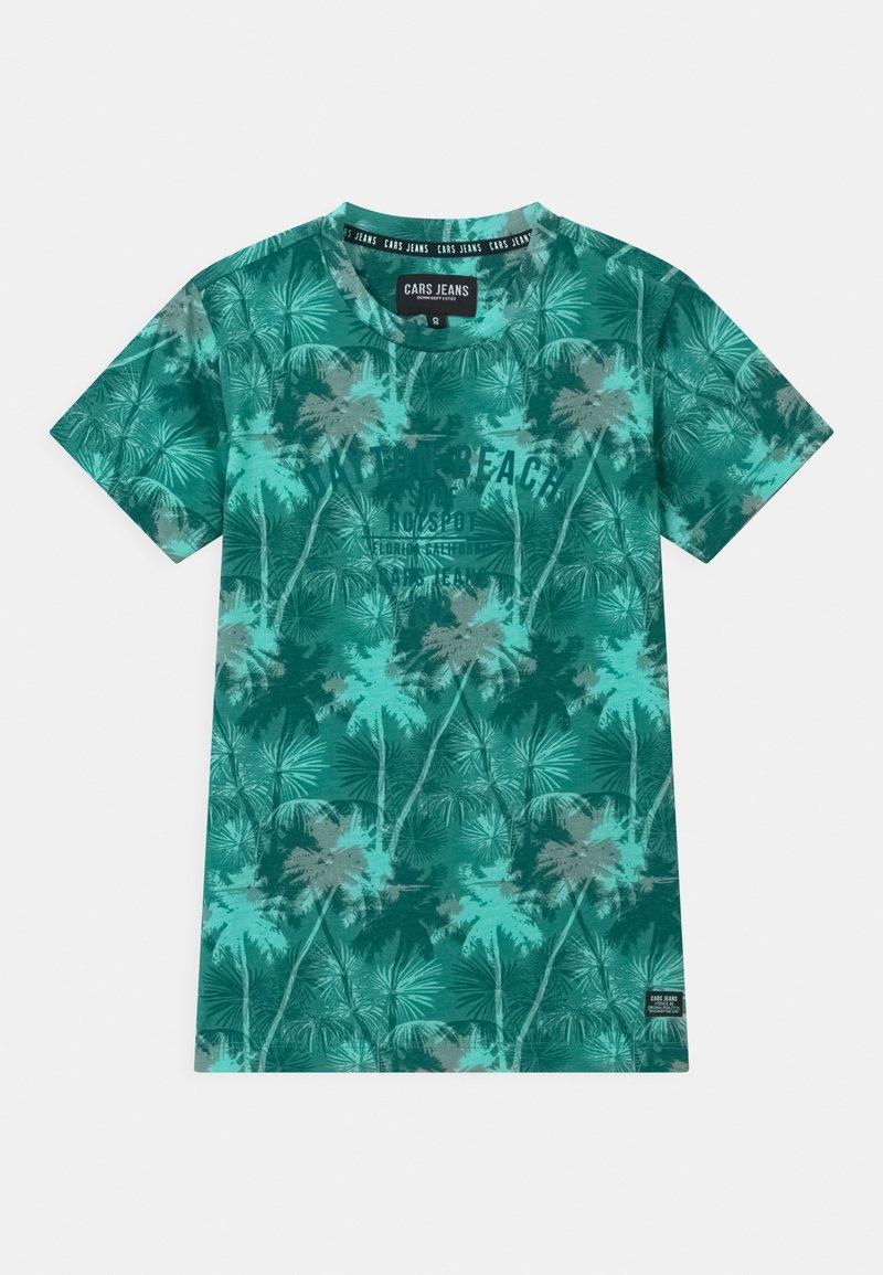 Cars Jeans - SOREN - Print T-shirt - aqua