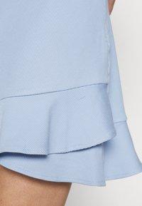 Forever New - LUCY FRILL SKIRT - Mini skirt - placid sky - 4