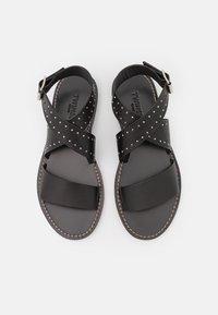 TWINSET - BASSO  - Sandals - nero - 4
