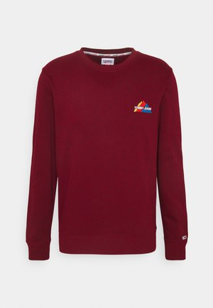 MOUNTAIN GRAPHIC CREW - Felpa - wine red heather