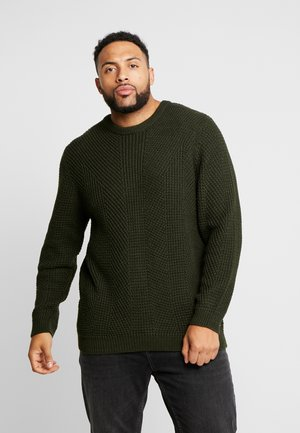 JCOSTANFORD KNIT CREW NECK  - Trui - rosin