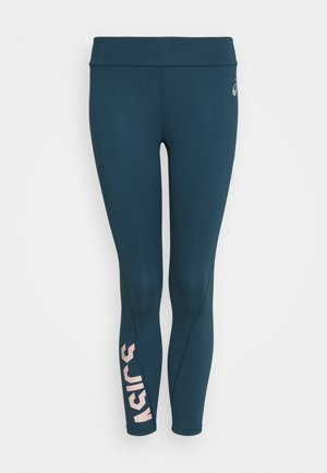 ESSENTIAL 7/8 TIGHT - Leggings - magnetic blue/ginger peach