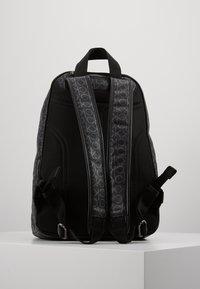 Calvin Klein - MONO ROUND BACKPACK - Tagesrucksack - black - 3